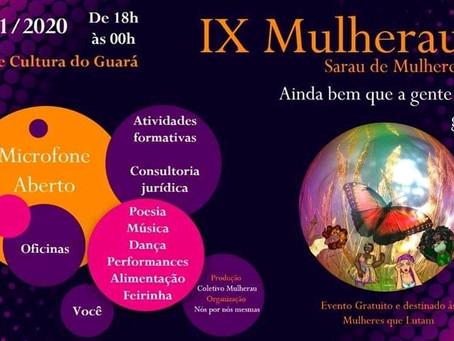 Multiplicidade participa do 9º Mulherau - Sarau de mulheres