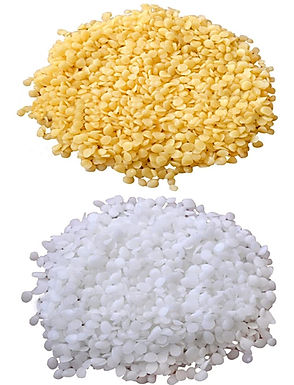 Beeswax Pellets -White and Yellow - Organic