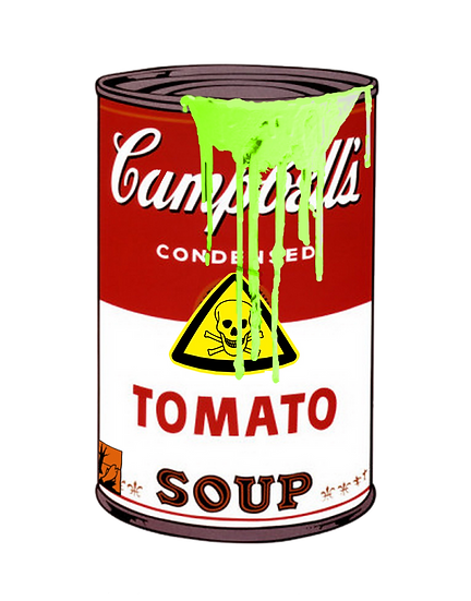 Cumpbells Toxic Tomato Soup