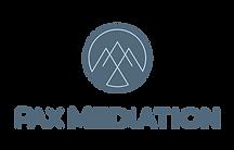 Pax Mediation Logo | Casper, WY