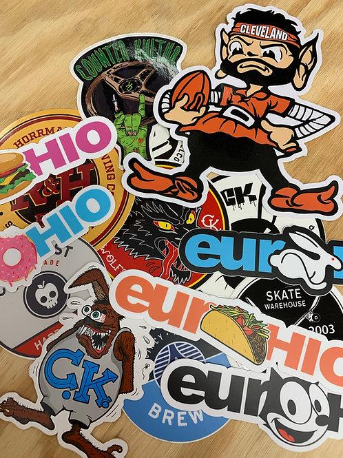 Die Cut Stickers (minimum Qty. 50)