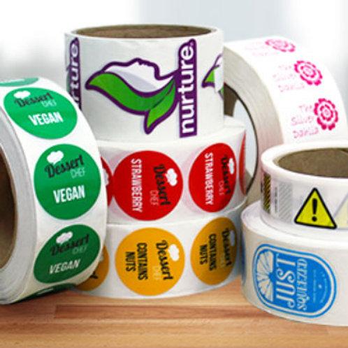 Roll Labels (minimum Qty. 100)