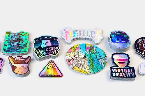 Holographic Stickers (minimum Qty. 50)