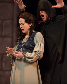 """as Marguerite in """"Faust"""""""