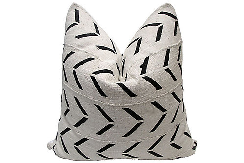 Mali Tribal Mudcloth Pillow