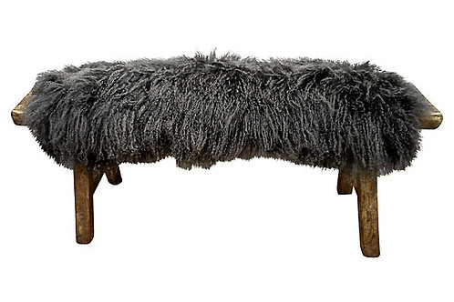 Shandong Bench w Tibetan Curly Lamb