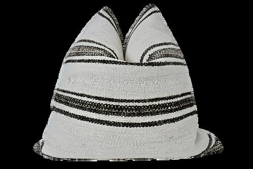 FI Vintage Berber Hemp &  Kilim Pillow