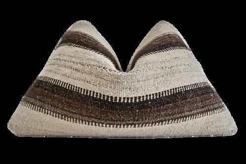 Fragments Identity Vintage Berber Kilim Pillow