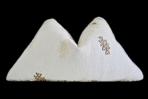 SOLD Fragments Identity Vintage Berber Handwoven Natural Kilim
