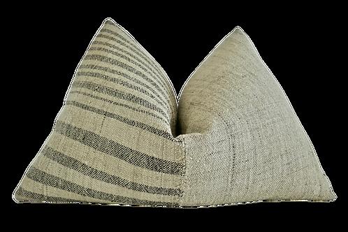 Fragments Identity Anatolian Kilim Hemp Pillow