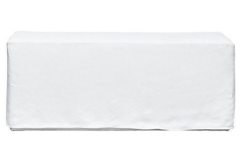 FI- Loose Slip Linen Bench