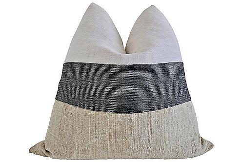 FI Vintage Hemp Linen Mixed Pillow