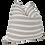 Thumbnail: Sand & Natural Organic Washed Cotton Stripe Pillow