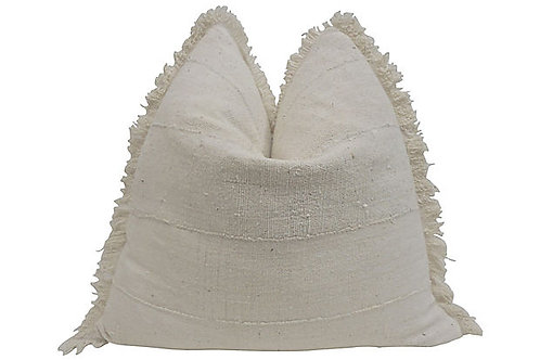 Windsor Natural Fringed Edge Pillow