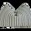 Thumbnail: FI European Woven Linen Stripe Pillow