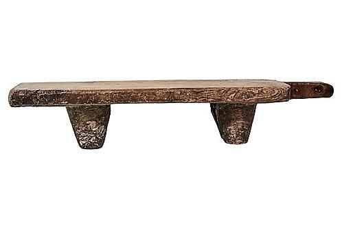 Antique Anatolian Wood Cutting Board