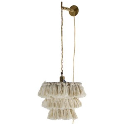 Tassel Wall-Mount Pendant Lighting Element