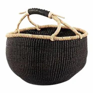 African Woven Basket
