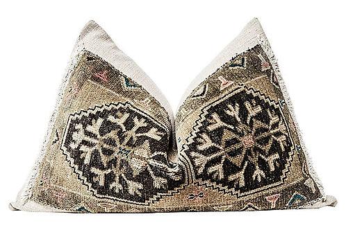 SOLD Berber Kilim & Gitano Oversize Pillow