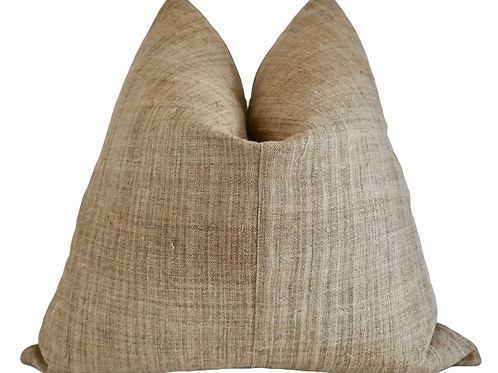 FI Carmel Hemp Pillow