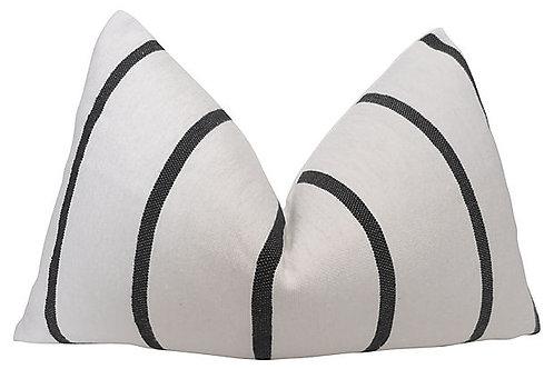 Berber Tribe Black & White Pillow