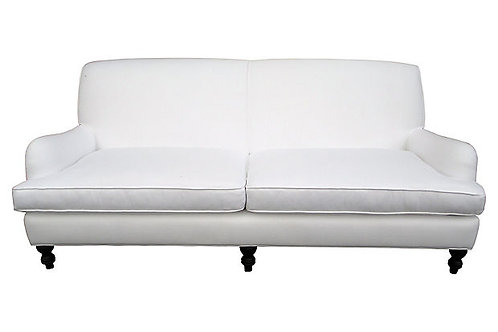 Custom Linen Sofa
