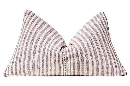 SOLD Turkish Hand-Spun Cotton Pillow