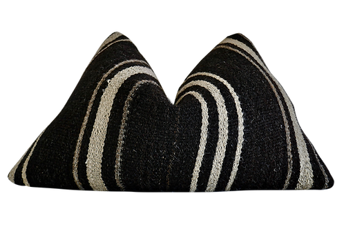 Fragments Identity Berber Kilim Pillow