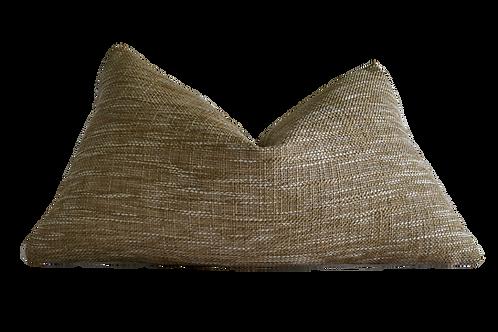 Sisal Woven & Fragments Identity Cenote Loop Lumbar Pillow