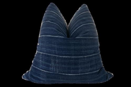 FI Vintage Tribal Indigo Blues Pillow