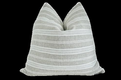 FI European Flax & White Linen Pillow