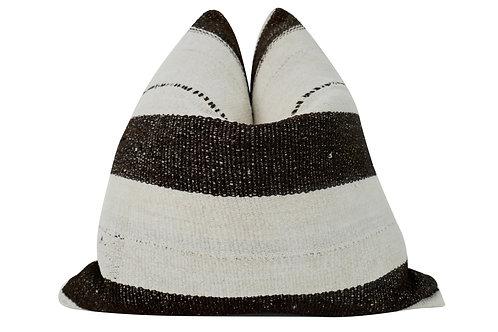 FI Vintage Berber Wool & Goathair  Kilim Pillow