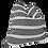 Thumbnail: Organic Washed Cotton Stripe Pillow