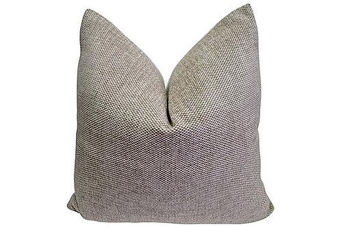 Ercu and Sand Chenille Pillow