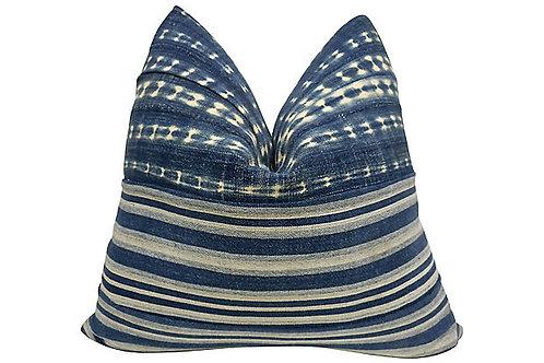 FI Vintage Mali Indigo Pillow