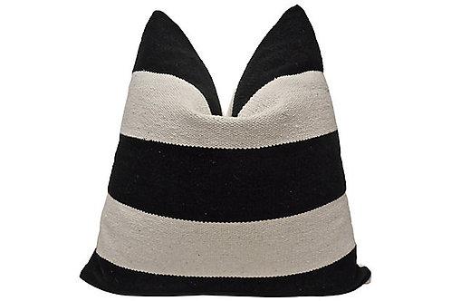 Woven Cabana &French Linen Textural Pillow