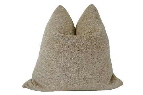 FI Sand Terry Loop Outdoor/Indoor Pillow, 24x24