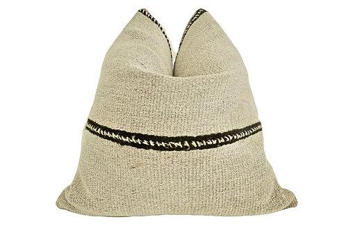 FI Vintage Berber Kilim Wool & Hemp Pillow