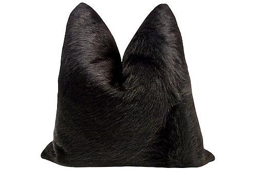Aspen Ranch Long Hair-on-Hide Pillow