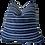 Thumbnail: SOLD Mali Vintage Indigo Blues & Linen Pillow