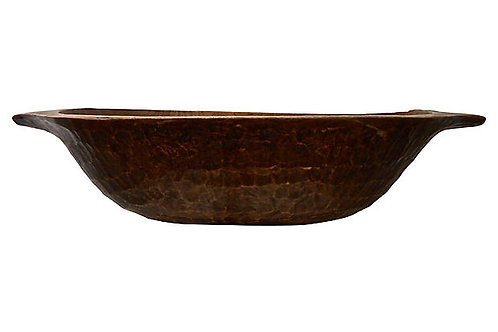 Antique European Dough Bowl
