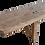 Thumbnail: Vintage French Hardwood Bench