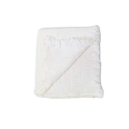 White Waffle Towel
