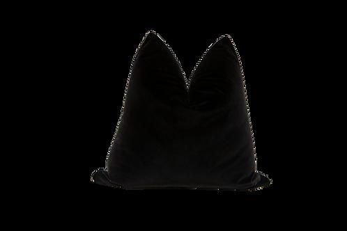 Belgium Black Onyx Velvet Pillow