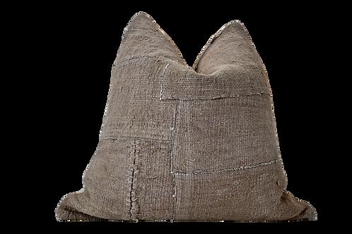 """Berber """"Large"""" Kilim Hemp/Wool Pillow"""