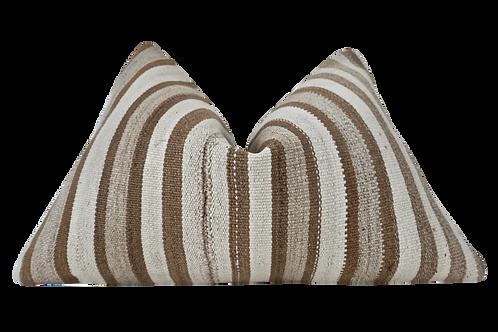 FI Vintage Berber Hemp Kilim Pillow