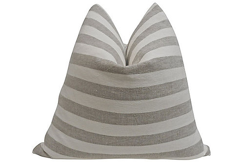 Stone-Washed European Linen Pillow $325.00