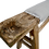 Thumbnail: FI Antique Shandong Bench w/ Natural French Linen