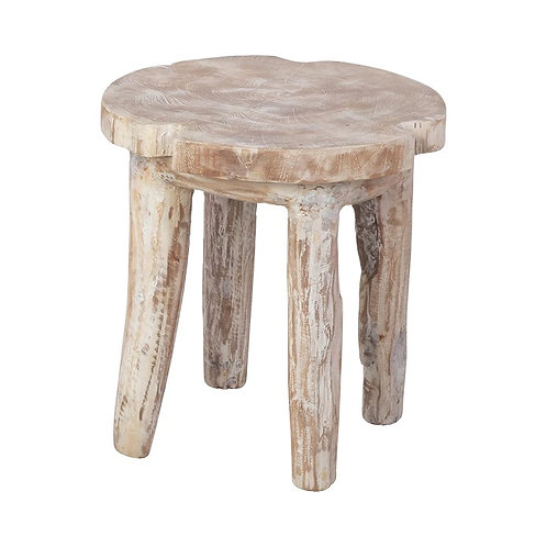 Weathered Accent Stool