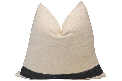 Berber Hand-Loomed Wool Pillow